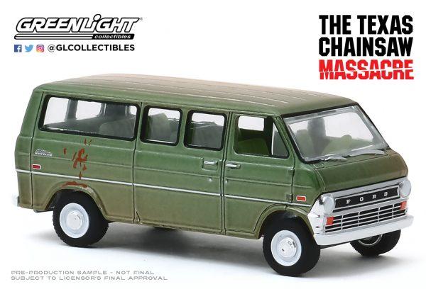 44870a2 - 1972 Ford Club Wagon - The Texas Chainsaw Massacre (1974)