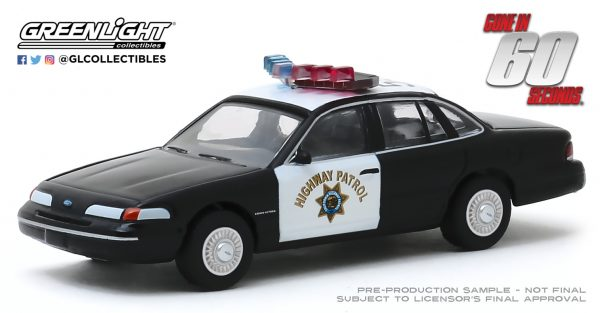 44870e1 - California Highway Patrol - 1992 Ford Crown Victoria Police Interceptor - Gone in Sixty Seconds (2000)