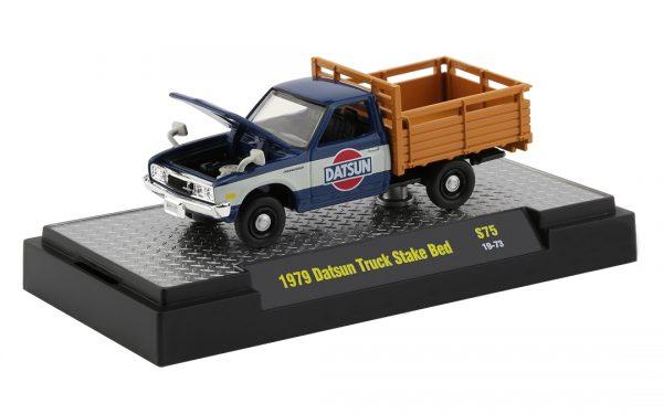 32500 s75f - 1979 Datsun Stake Bed Truck in Blue and White (Li'l Hustler)