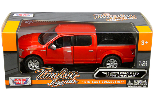 79363r - 2019 Ford F-150 Lariat Crew Cab Pickup Truck in Red