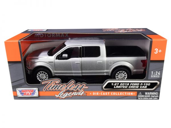 79364s - 2019 Ford F-150 Limited Crew Cab Pickup Truck in Silver