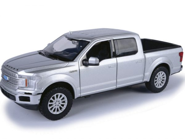 79364sil silver 1 - 2019 Ford F-150 Limited Crew Cab Pickup Truck in Silver