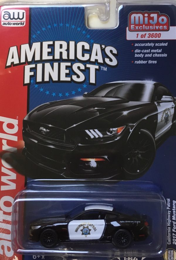 cp7475 - 2017 FORD MUSTANG, CALIFORNIA HGIHWAY PATROL (AMERICAS FINEST)