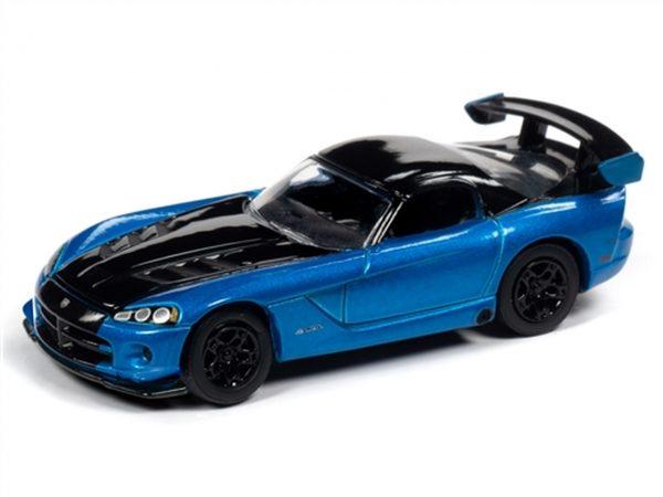 jlcg021b1 - 2008 Dodge Viper SRT10 in Bright Blue Metallic - 30th Anniversary