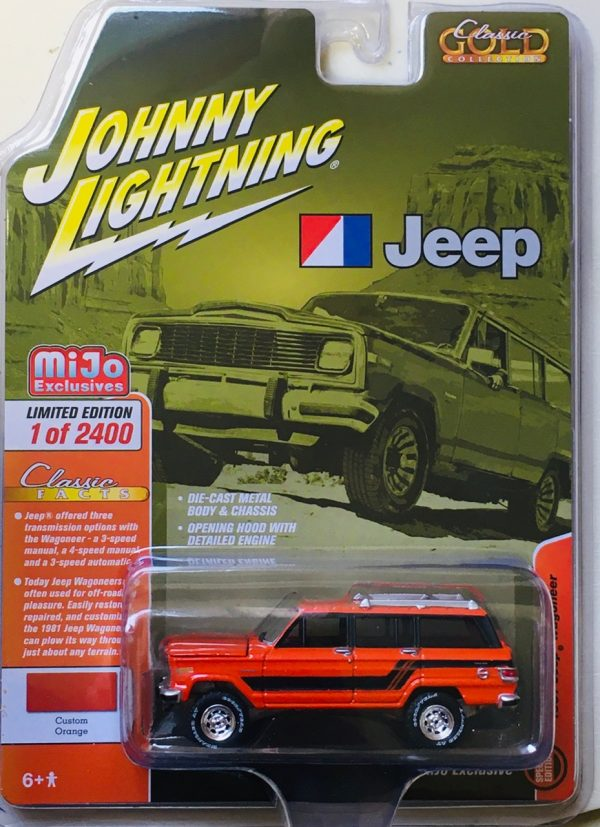 jlcp7314 - 1981 JEEP WAGONEER - Custom Orange