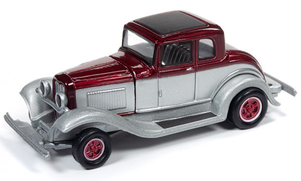 rc010b2 - 1932 Ford Coupe in 2-Tone Metallic Red and Silver
