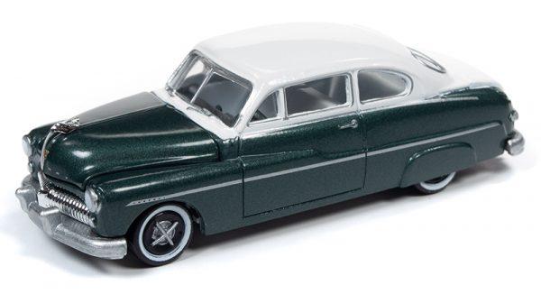 rc010b6 - 1949 Mercury Sedan in 2-Tone Banff Green and White