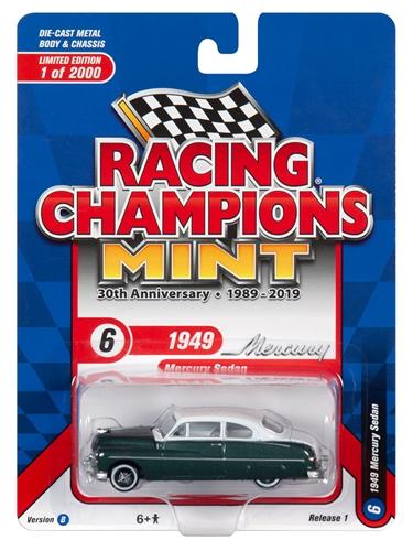 rc010b6a - 1949 Mercury Sedan in 2-Tone Banff Green and White