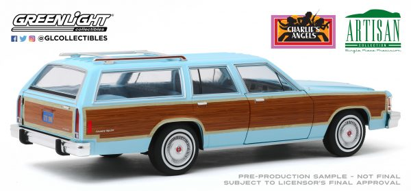 19066e - 1979 Ford LTD Country Squire - Charlie's Angels (TV Series, 1976-81)