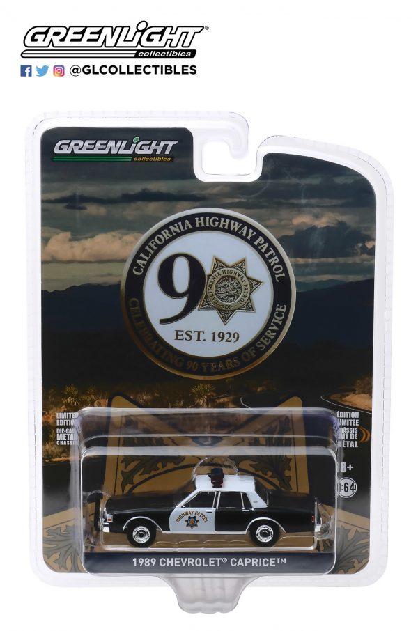 28020c - 1989 Chevrolet Caprice Police - California Highway Patrol 90th Anniversary