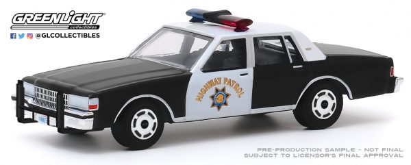 28020c1 - 1989 Chevrolet Caprice Police - California Highway Patrol 90th Anniversary