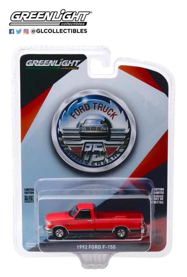 28020d - 1992 Ford F-150 Pick Up Truck - 75th Anniversary of Ford Trucks
