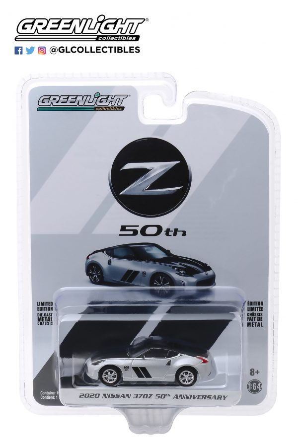 28020f - 2020 Nissan 370Z Coupe 50th Anniversary in Silver and Black