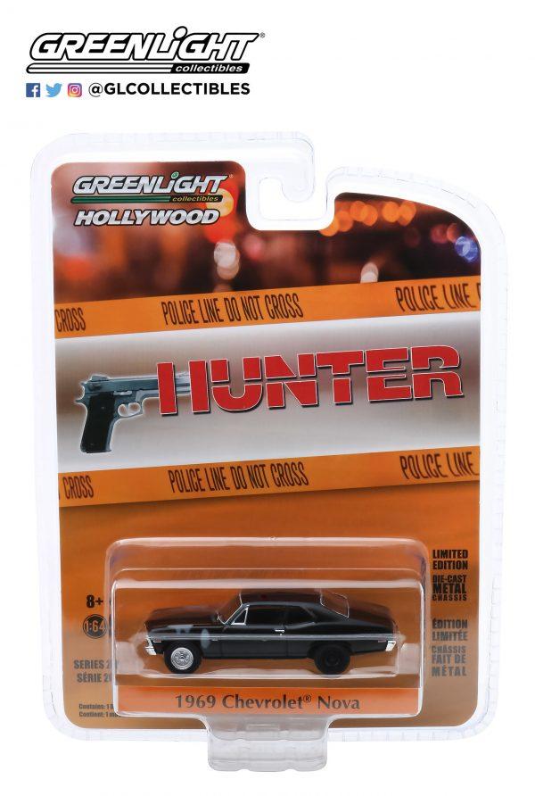 44880d - 1969 Chevrolet Nova Police - Hunter (TV Series, 1984-91)