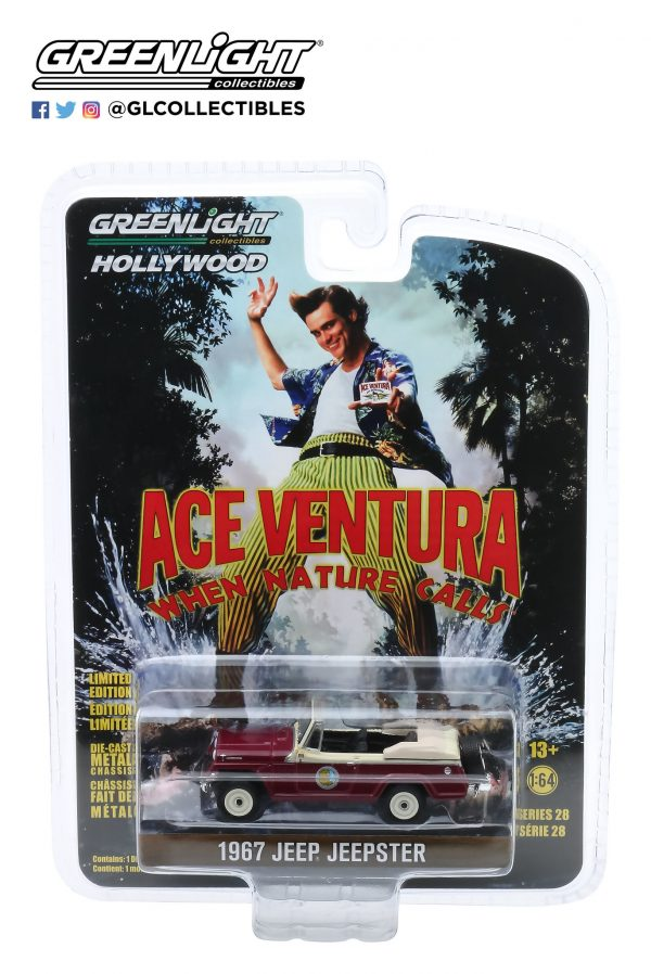 44880f - 1967 Jeep Jeepster Convertible - Ace Ventura: When Nature Calls (1995)