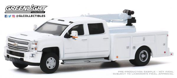 46040a - 2016 Chevrolet Silverado 3500 Dually Crane Truck in White