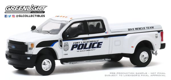 46040f - Fort Lauderdale, Florida Police Department Dive Team - 2019 Ford F-350 Dually Truck