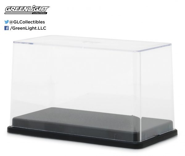 55025 2 - 1:64 Scale Acrylic Case with Plastic Base by Greenlight