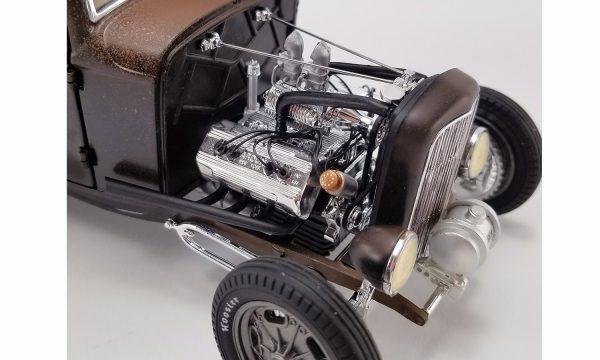 a1805017a - PORK CHOP'S 1932 FORD RAT ROD - 190 PROOF
