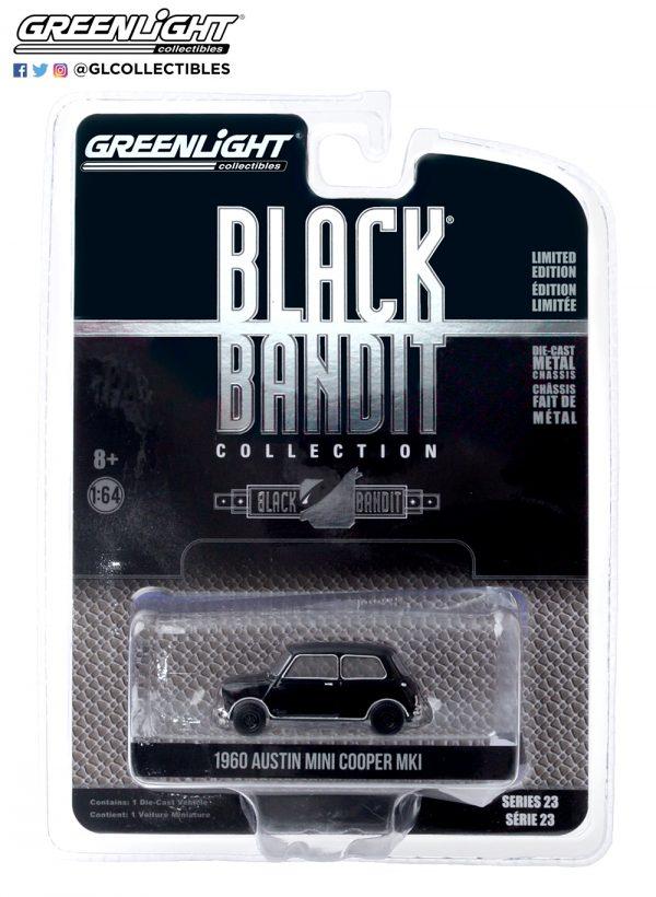 28030 a black bandit 23 1960 austin mini cooper mkl pkg front b2b - 1960 Austin Mini Cooper MkI - Black Bandit Series 23