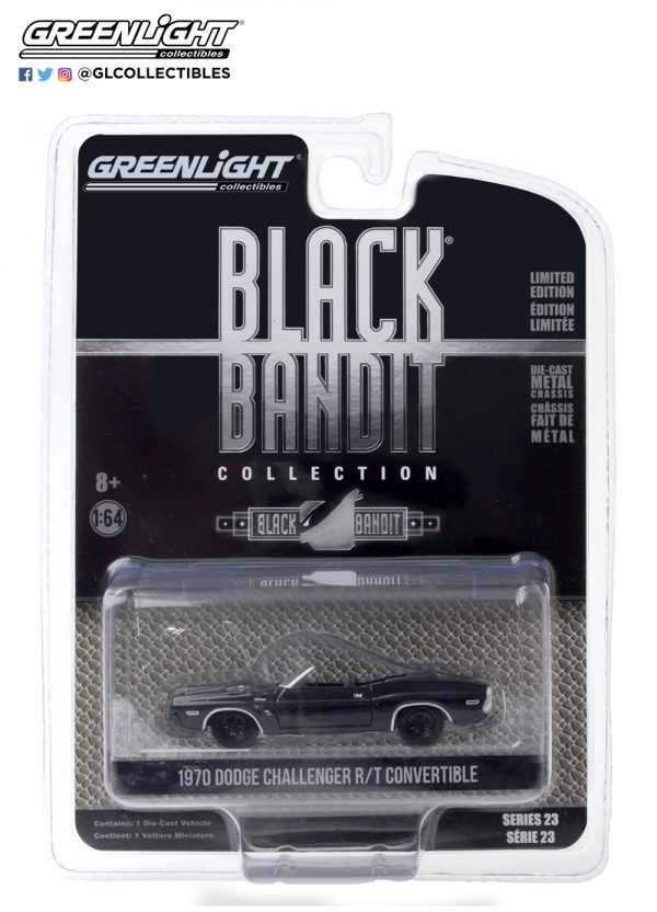 28030 c black bandit 23 1970 dodge challenger convertible pkg front b2b - 1970 Dodge Challenger Convertible - Black Bandit Series 23