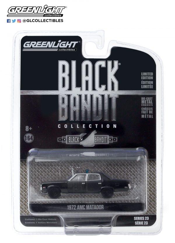28030 d black bandit 23 1972 amc matador pkg front b2b - 1972 AMC Matador - Black Bandit Police SERIES 23