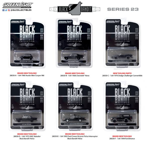 28030set - 1968 Chevrolet Nova - Black Bandit Series 23