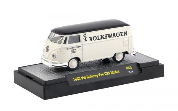 32500 50b1 - 1960 VW DELIVERY VAN USA MODEL - AUTO TRUCKS RELEASE 50