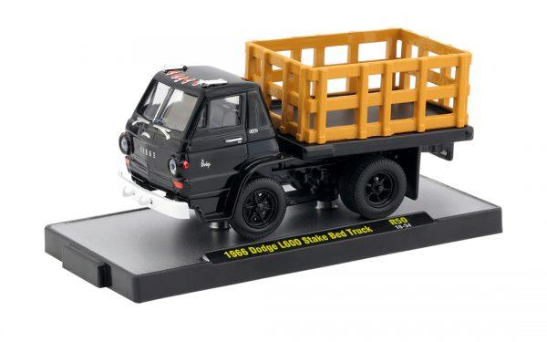 32500 50d1 - 1956 DODGE L600 STATE BED TRUCK (BLACK) - M2 AUTO TRUCKS SERIES 50