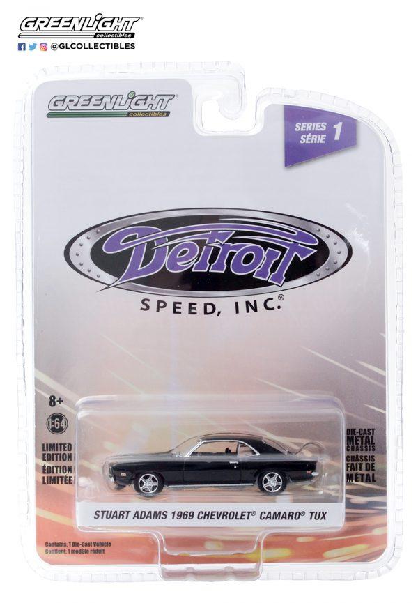 39040 d 1969 chevrolet camaro tux pkg front b2b - Stuart Adams' 1969 Chevrolet Camaro 'TUX' - Detroit Speed, Inc. Series 1
