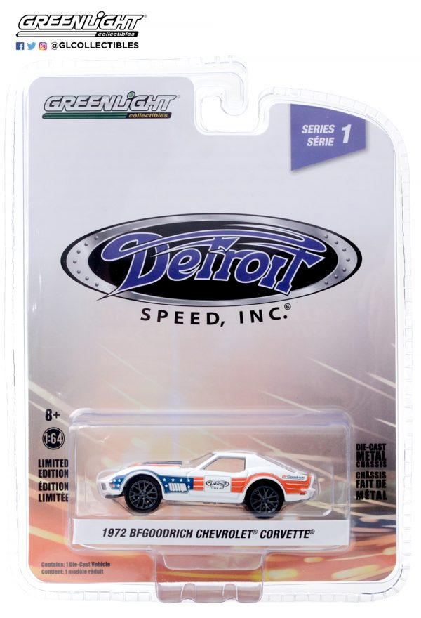 39040 f 1972 chevrolet corvette bfgoodrich pkg front b2b - BFGoodrich - 1972 Chevrolet Corvette in Red, White and Blue - Detroit Speed, Inc. Series 1