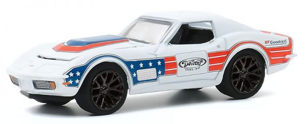 39040f1 - BFGoodrich - 1972 Chevrolet Corvette in Red, White and Blue - Detroit Speed, Inc. Series 1