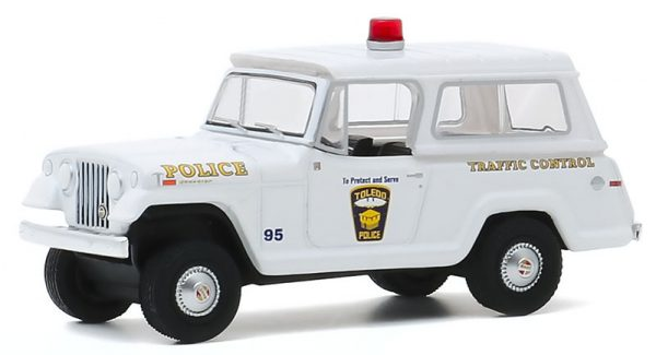42920a - 1969 Kaiser Jeep Jeepster - City of Toledo, Ohio Police - Hot Pursuit Series 35