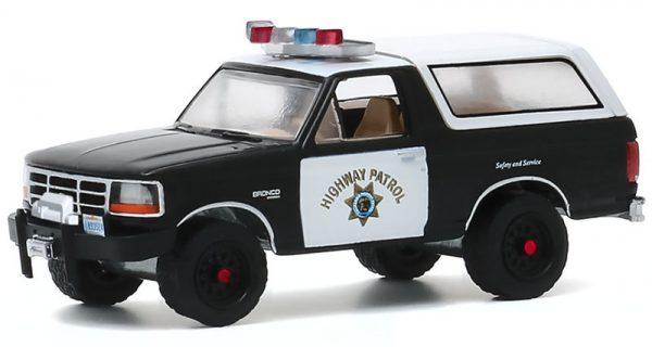 42920e - 1995 Ford Bronco -California Highway Patrol - Hot Pursuit Series 35