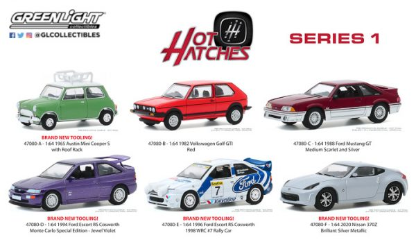 47080 1 64 hot hatches 1 grouppblast - 1965 Austin Mini Cooper S with Roof Rack - Hot Hatches Series 1