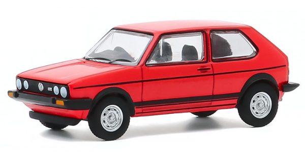 47080 b - 1982 Volkswagen Golf GTI in Red - Hot Hatches Series 1
