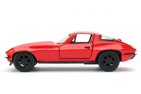 98306a - LETTY'S CHEVY CORVETTE FROM FAST & FURIOUS - RED - 1:32 SCALE