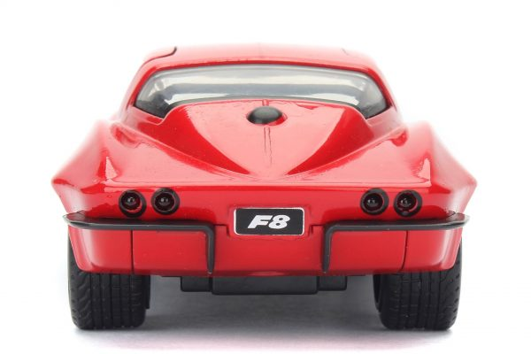 98306b - LETTY'S CHEVY CORVETTE FROM FAST & FURIOUS - RED - 1:32 SCALE
