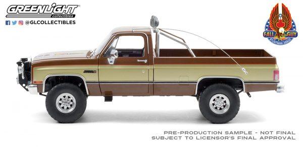 13560 1982 gmc k 2500 sierra grande wideside fall guy side b2b - 1982 GMC K-2500 Sierra Grande Wideside - 1:18 Fall Guy