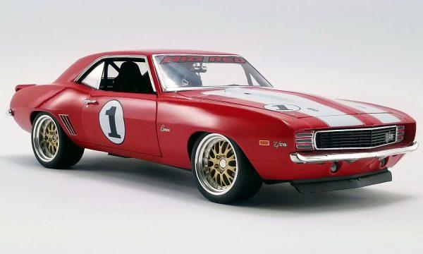 18882 1 - 1969 Chevrolet BIG RED CAMARO