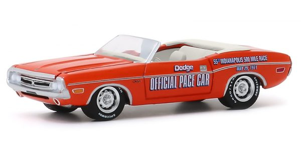 30144 - 1971 Dodge Challenger Convertible - 55th Annual Indianapolis 500-Mile Race Official Dodge Pace Car