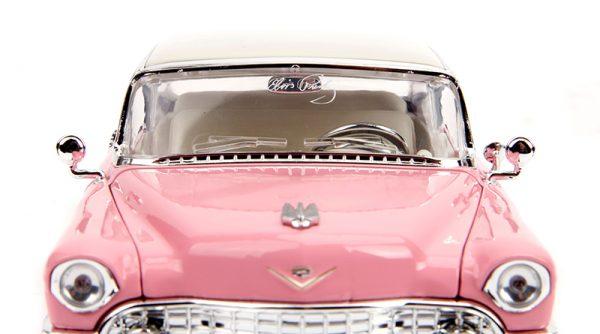 31007d - Elvis Presley's Pink 1955 Cadillac Fleetwood with Elvis Figure