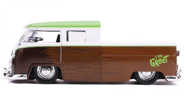 31202d - 1963 Volkswagen Bus Pickup and Groot Figure