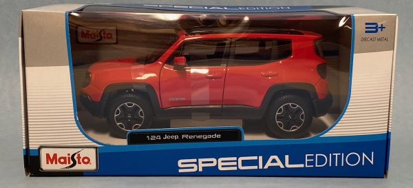31282r - 2017 JEEP RENEGADE - RED