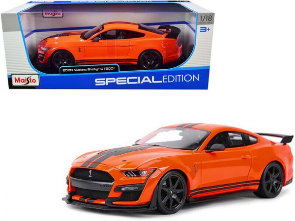 31388or2 - 2020 FORD SHELBY GT500 - ORANGE