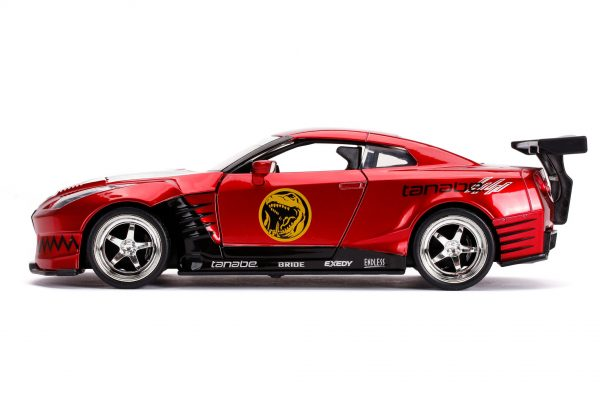 31908 1.24 hwr 2009 nissan gt r r35 w red ranger 4 - 2009 NISSAN GT-R (R35) W/RED RANGER - HOLLYWOOD RIDES