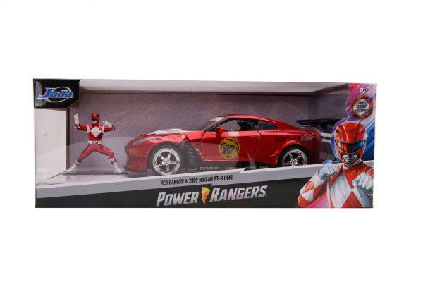 31908 1.24 hwr 2009 nissan gt r r35 w red ranger 7 - 2009 NISSAN GT-R (R35) W/RED RANGER - HOLLYWOOD RIDES