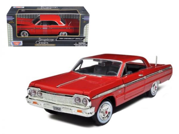 73259red - 1964 CHEVROLET IMPALA HARD TOP- RED