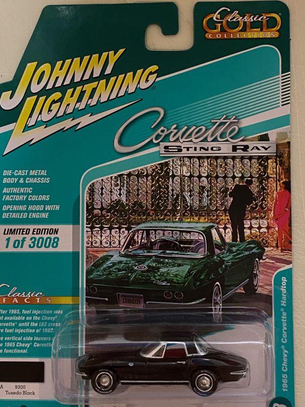 jlcg022a3 - 1965 Chevrolet Corvette Hardtop in Gloss Black