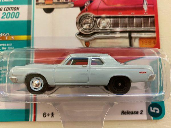 jlcg022a5a - 1964 Dodge 330 in Light Blue